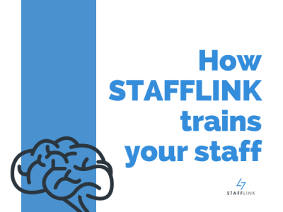 How STAFFLINK Trains Your Staff More Efficiently